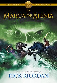 Marca Atenea Riordan Percy Jackson