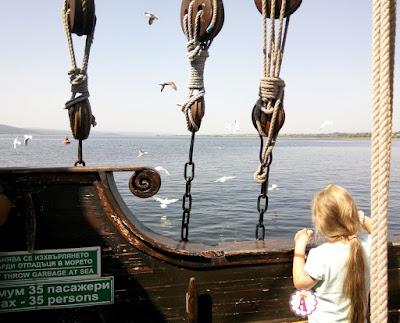 Незабываемый детский день рождения в стиле пиратов на корабле