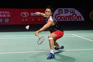 Kento Momota won his 10th title as Japan's World No. 1
