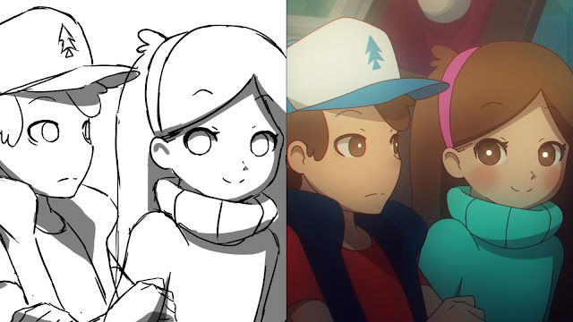 Gravity Falls Gallery anime