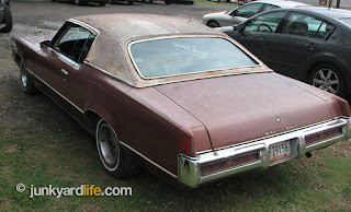 Rust has made a mark on several areas of the '69 Pontiac.