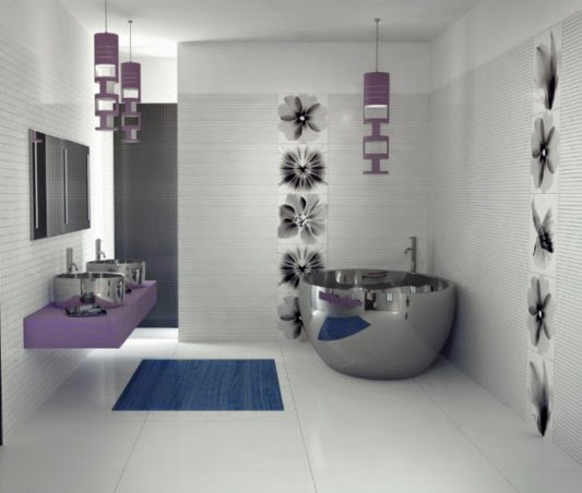 Merveilleux ... And Trends For Bathroom Designing With Tiles Is Really Incredible And  Appealing Isnu0027t It. Come Out Of The Simple, Color Less And Dull Bathroom  Settings.
