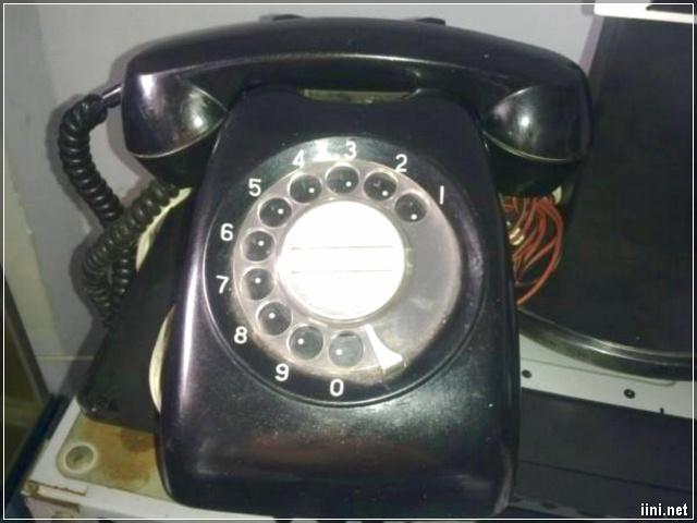 điện thoại quay số ngày xưa