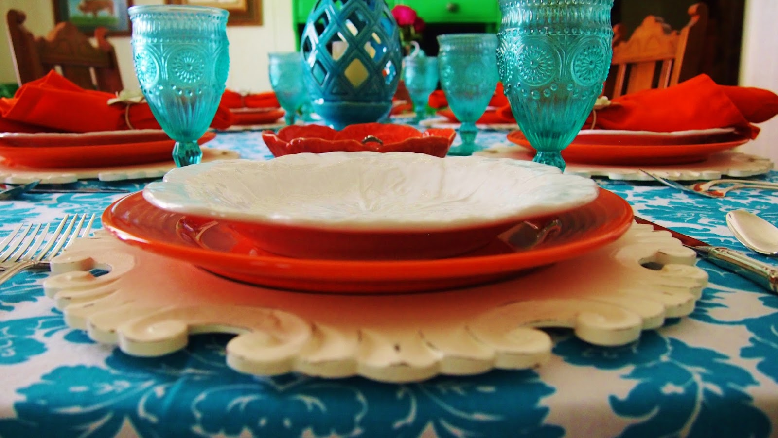 pioneer woman dishes setting table. a happy table! pioneer woman dishes setting table