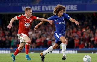 اهداف مباراة تشيلسي ونوتينجهام فورست 2-0 اليوم 5/1/2019 كأس الاتحاد الإنجليزي Chelsea vs Nottingham Forest live