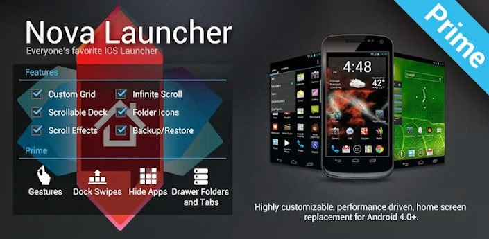 Paid Android APP] Nova Launcher Prime v2 3 Apk Pro APP Free