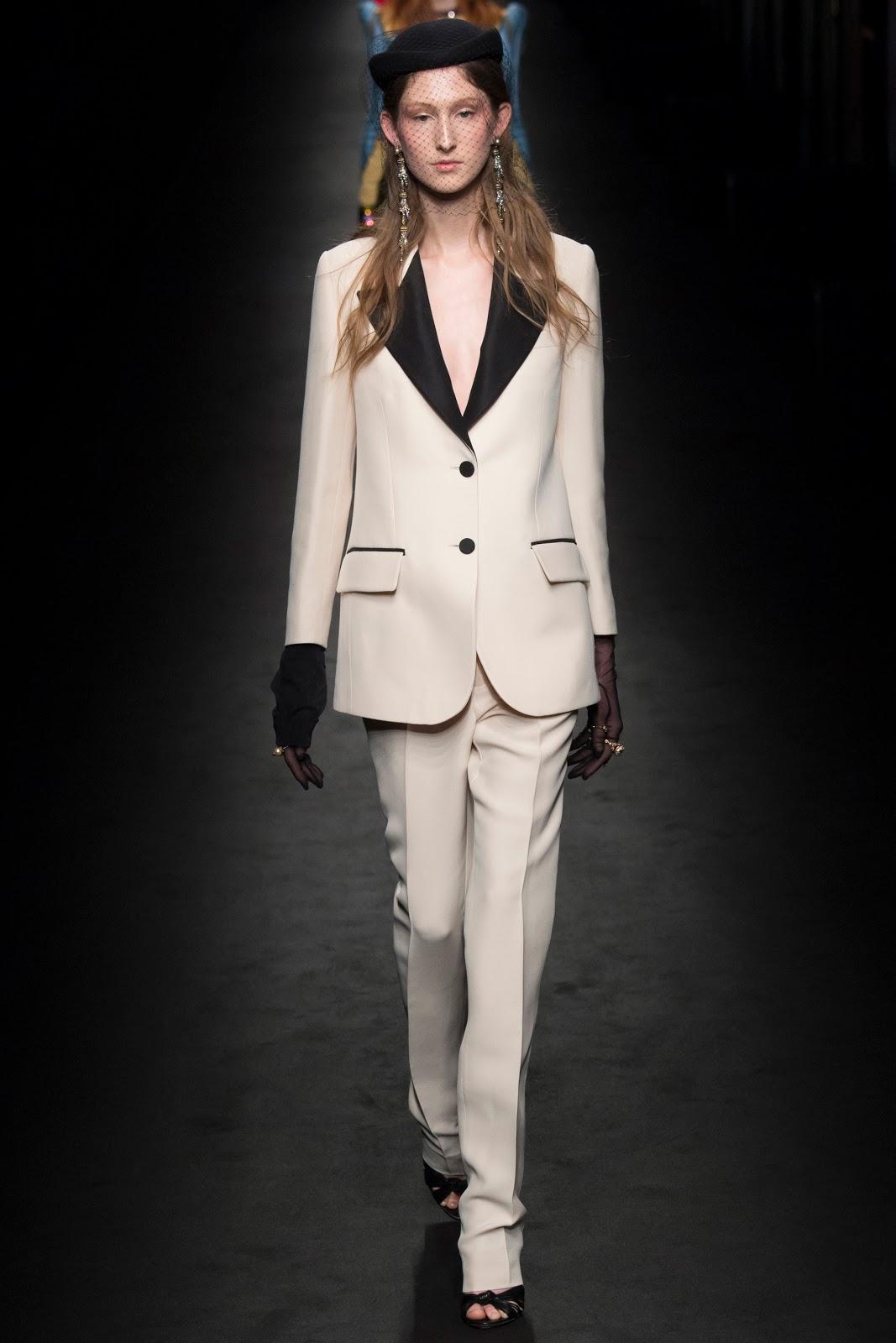 Fashion Runway Gucci Fall 2016 Ready-to-Wear Milan Fashion ...