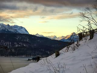 Morgenstimmung über dem Walchensee