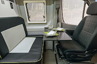Mercedes-Benz Sprinter 4x4 Winnebago Revel (2018) Interior - Dinette