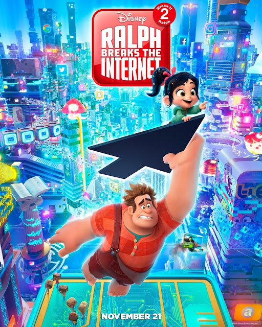 Review Wreck-It Ralph 2 : Ralph Breaks The Internet (2018)