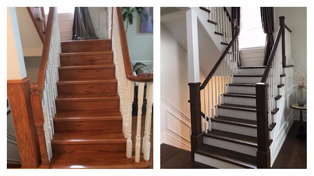 Oakville Staircase Renovator Before and After Pictures