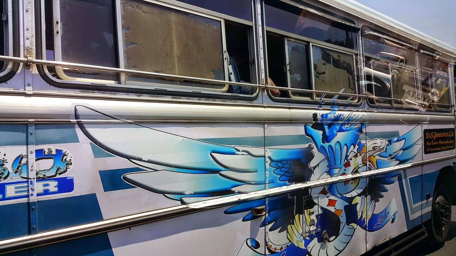 Sri Lanka otobüs
