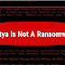 New petya is not a ransomware it is not designed   to make money
