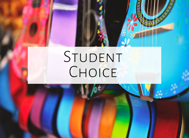 Giving students choice during centers