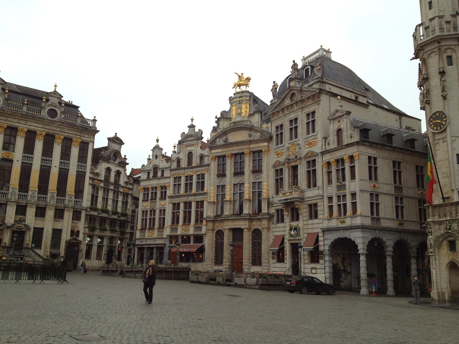 Brussels - Guild houses in Grand Place