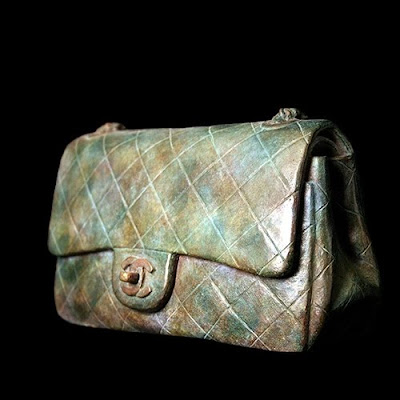 marble Chanel bag