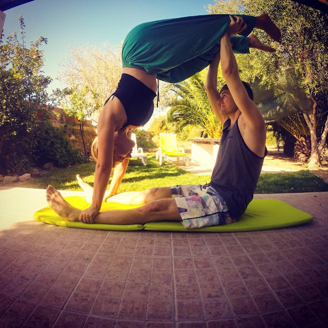 Couples Yoga in Portugal
