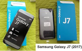 Galaxy J7 2017 smartphone
