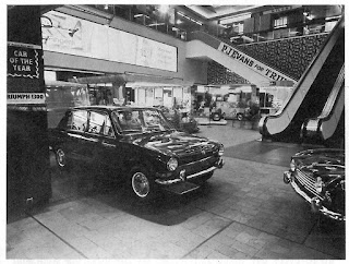 P J Evans sale exhibit in the Bull Ring Birmingham 1966