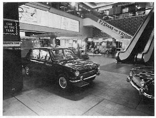 P J Evans sale exhibit in the Bull Ring Birmingham 1966