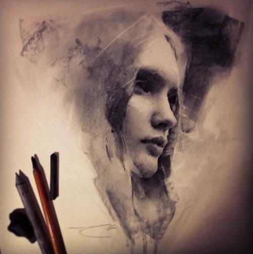 09-Casey-Baugh-Portrait-Drawings-of-Charcoal-Studies-www-designstack-co