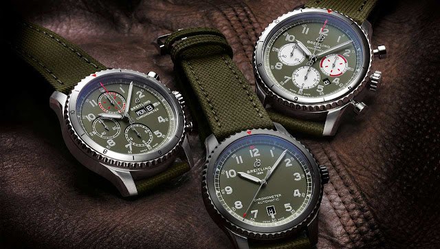 Breitling Aviator 8 Curtiss Warhawk Collection