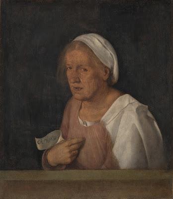 Giorgione - La vecchia