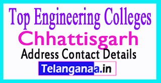 Top Engineering Colleges in Chhattisgarh
