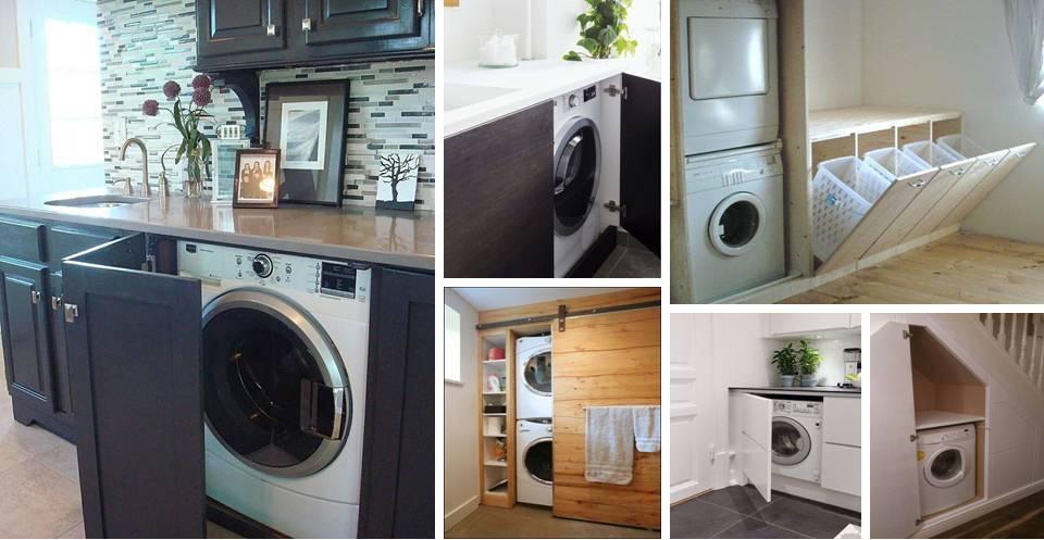 Perfect Washing Machine Storage Ideas