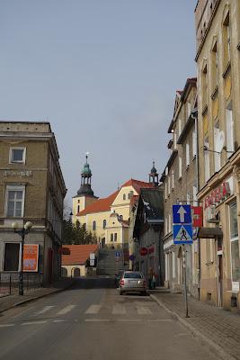 Boguszów-Gorce rynek miejski