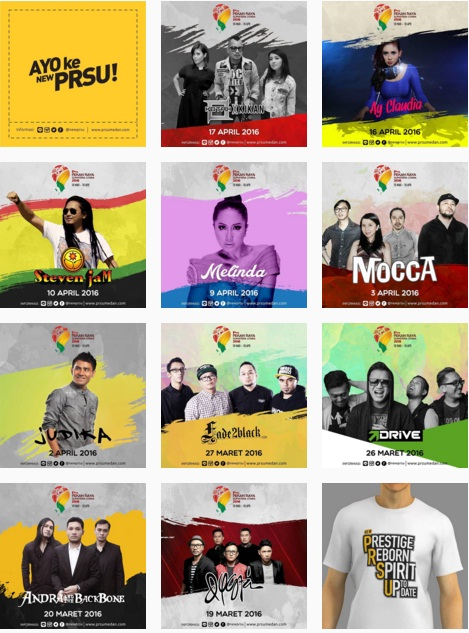 Jadwal Artis Ibukota Pekan Raya Sumatera Utara 2016