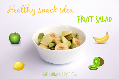Healthy snack - fruit salad