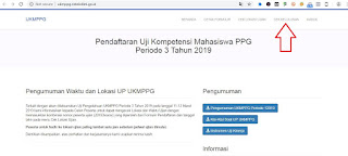 http://ukmppg.ristekdikti.go.id/ Alamat Cek Status Kelulusan UKMPPG