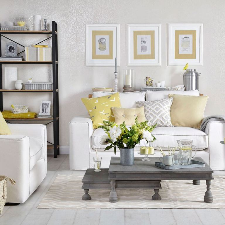 Beautiful White Living Room Ideas