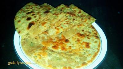 सोया पराठा बनाने की विधि - soya keema paratha recipe - soya granules paratha recipe -  soya paratha recipe in hindi
