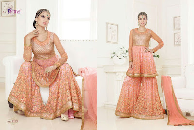 FIONA – FITOOR-Stylish Fashion Designer Traditional Looking heavy salwar Suit