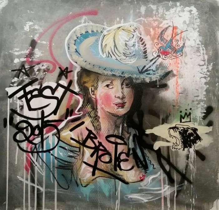 Канадский художник. Jerome Rochette