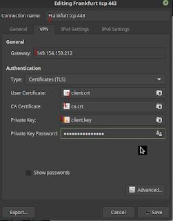 setting vpn gratis linux