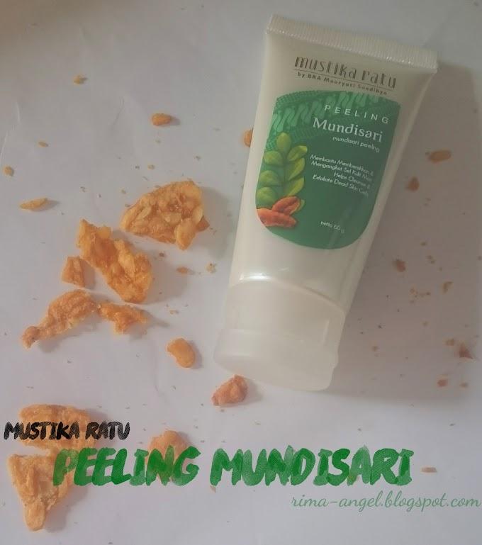 Review Mustika Ratu Mundisari Peeling (Tube)