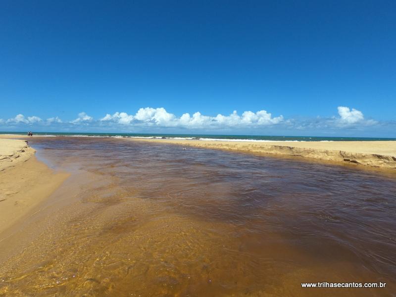 Praia do Rio da Barra Trancoso Bahia