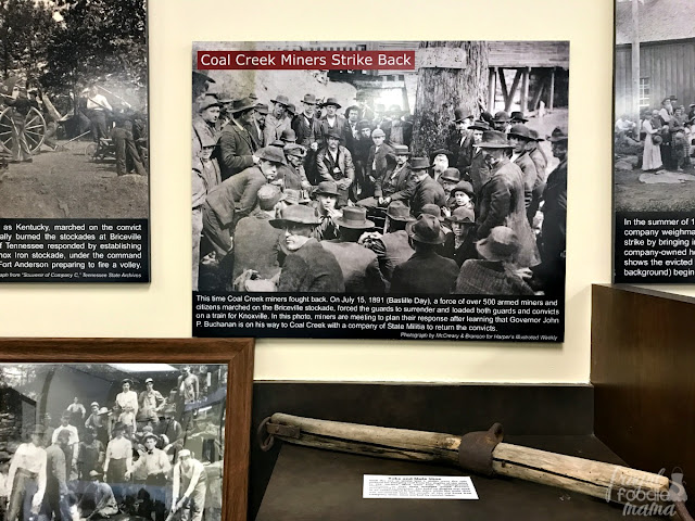 Documenting life in the mine towns and the upheaval & loss from mining disasters & mine wars, the Coal Creek Miners Museum is one of the only museums in Anderson County dedicated exclusively to the mining history of the area.