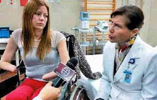 Shirley Meléndez, de 25 años, denunció a médicos del hospital estatal Guillermo Almenara de Essalud (seguro social) por lo que le ocurrió, tras sufrir una infección generalizada. Su caso fue revelado por el programa dominical de TV 'Cuarto Poder' y ha conmovido a la ciudadanía, motivando incluso la intervención el presidente Pedro Pablo Kuczynski.