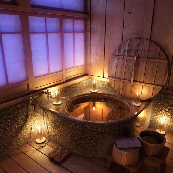 Bir Başkadır Modern Evlerin Sobaları: Çok Modern Banyo Dekorasyonları