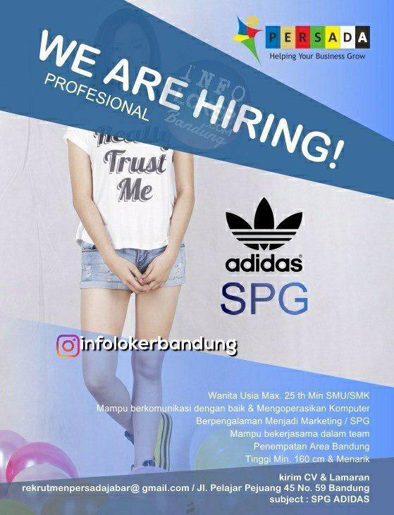 Lowongan Kerja SPG Adidas Bandung Oktober 2018