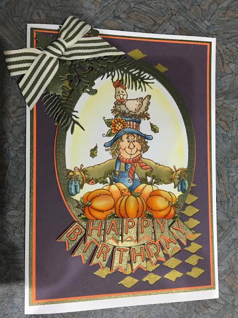Pumpkin Birthday Card