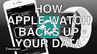How your iPhone backs up and stores your Apple Watch data.