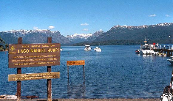 História do Lago Nahuel Huapi em Bariloche