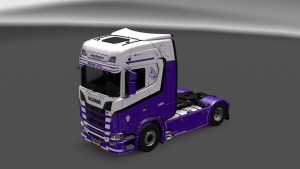 Scania S580 GangsteR Truck Skins Pack v4
