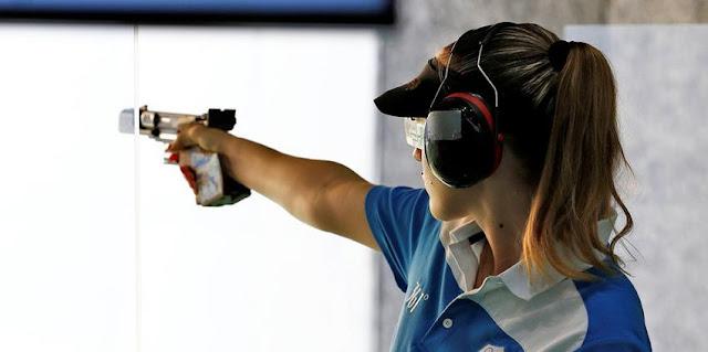 Χρυσή Ολυμπιονίκης η Άννα Κορακάκη στην σκοποβολή