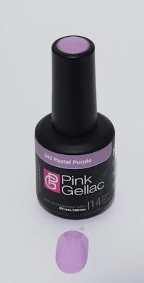 Pink Gellac vintage chic pastel purple